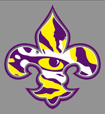 Louisiana State University Lsu Tigers 6 Saint Emblem V