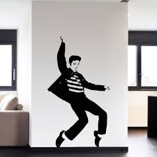 Pvc Fashion Dance Elvis Presley Pattern Bedroom Wall Sticker Wall Art Decals Home Decor Rock And Roll Music Posters Vaelvis13n Music Poster Fashion Posterposter Fashion Aliexpress