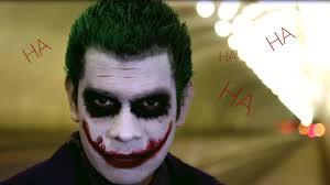 the joker cosplay makeup tutorial
