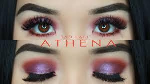 athena palette makeup look desert dusk
