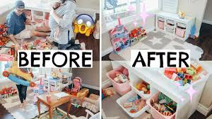Epic Toy Declutter Toy Organization Ideas For Kids Youtube