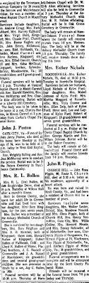 Iva Russell Bullen's Obituary. Howard Bullen's Mother April 1965 -  Newspapers.com
