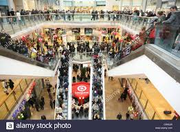 Shopping Mall Packed Shoppers Westfield Fotos e Imágenes de stock ...