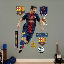 Fc Barcelona Lionel Messi Wall Decal Sticker Wall Decal Allposters Com