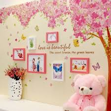 Wall Decal Pink Giant Huge Cherry Tree Sticker Peel Large Kids Girls Bedroom For Sale Online Ebay