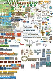 Collection Of Solutions Pokemon Gba World Map Editor - Pokemon Gen 3  Tileset | Full Size PNG Download