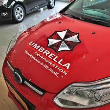 Car Sticker Umbrella Corporation Car Hood Decal Decoration Car Accessories Ebay