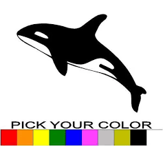 Killer Whale 6 Decal Sticker Vinyl Car Window Laptop Cell Orca Outdoors Wild Laptops For Children Computers Window Pulleylaptop Stand As Seen On Tv Aliexpress