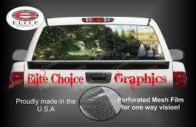Dragon Empire Fantasy Rear Window Graphic Tint Decal Sticker Etsy