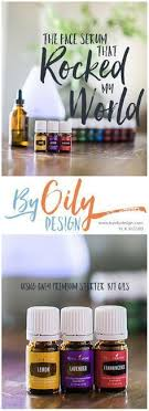 using young living essential oils to