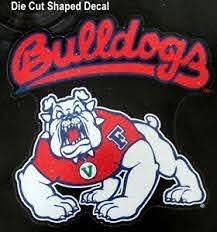 California State University Fresno Bulldogs Die Cut Decal College Sticker 94746820749 Ebay