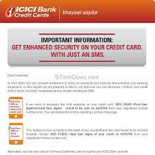 lost icici credit card you can now