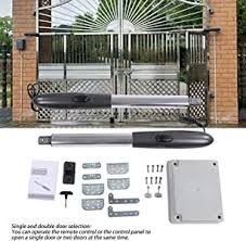 Amazon Com Pangding Automatic Gate Opener Motor 24v Auto Electric Powered Swing Gates Opener Kit With 2 Remote Control Motor Home Kitchen
