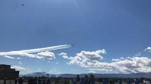 Thunderbirds fly over valley to thank ...