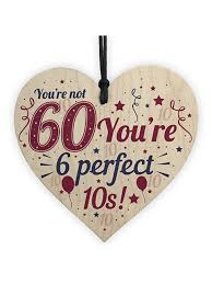 novelty 60th birthday gifts funny wood
