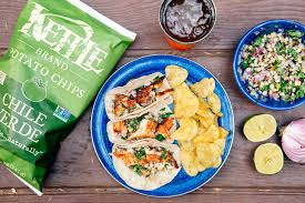 Campfire Grilled Fish Tacos