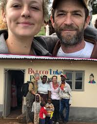 Luke Perry Daughter Sophie Opens School In Africa In His Honor