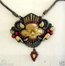 rare hindu protective cameo amulet boma