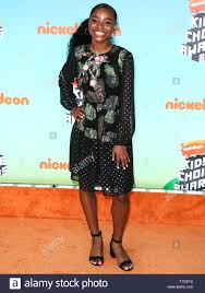 LOS ANGELES, CA, USA - MARCH 23: Saniyya Sidney arrives at Nickelodeon's  2019 Kids' Choice Awards held at the USC Galen Center on March 23, 2019 in  Los Angeles, California, United States. (