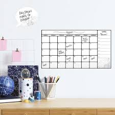 Dry Erase Calendar Wall Decals Roommates Decor