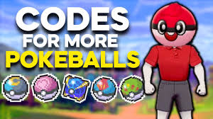 CODES to get MORE APRICORN POKEBALLS and BEAST BALLS in Pokemon ...