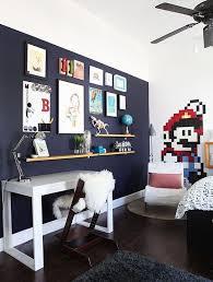 An Unexpectedly Chic Super Mario Bros Tween Room Tween Room Tween Boy Bedroom Boy Room