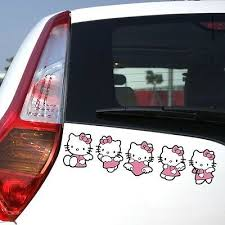 Hello Kitty Pink Bow Car Wing Mirror Window Sticker Car Body Decals Archives Statelegals Staradvertiser Com