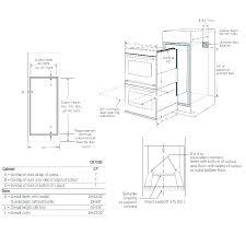 wall oven sizes pontog co