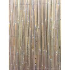 Eden 1 5 X 3m Bamboo Slat Screen Fencing Bunnings Warehouse