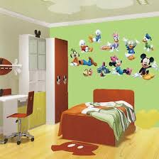 Shop Huge Mickey Mouse Clubhouse Removable Wall Sticker Decal Mural Kids Room Decor Online From Best Wall Stickers Murals On Jd Com Global Site Joybuy Com