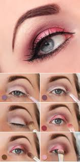 flirty pink valentine s day makeup