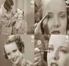 vine 1930s makeup tutorial film