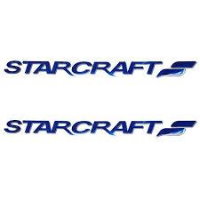 Starcraft Boat Decals