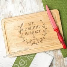 personalized cutting board mom