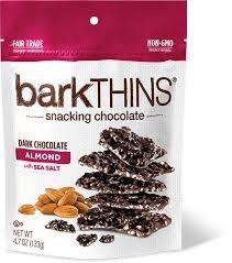 barkthins dark chocolate almond with