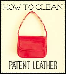 clean patent leather shoes bags