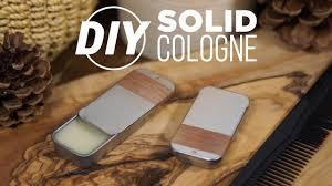 diy solid wax cologne handmade
