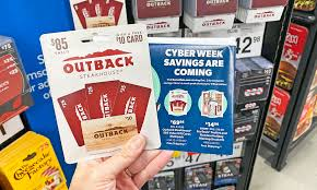 outback steakhouse gift cards only 69