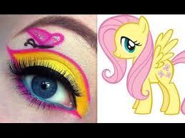 my little pony fluttershy makeup