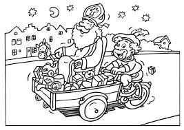 Sinterklaas En Zwarte Piet Kleurplaten Animaatjes Nl