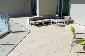 outdoor tile floor cement