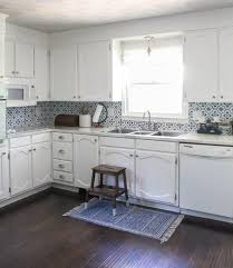 painting oak cabinets white an amazing