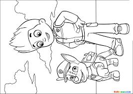 50+ Hình và Tranh tô màu Những chú chó cứu hộ Paw Patrol cho bé tô ...