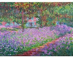 monet s garden wall art com au