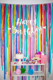 diy party backdrop ideas thepartyidea