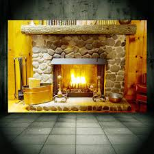 Fireplace Wall Mural Wall Paper Personalized Decal For Wall Decor Home Decor Christmas Holiday Decoration Cwchristmas01 Wall Paper Mural Wall Paperwall Mural Aliexpress