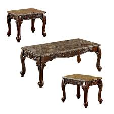 3 piece coffee table