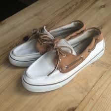 sperry shoes top sider cream and