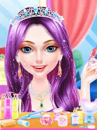 royal princess makeup salon dress up