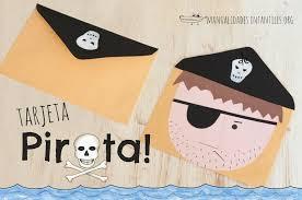 Tarjeta Pirata Manualidades Infantiles